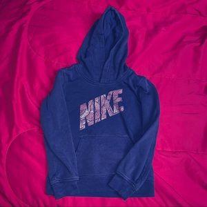 girls NIKE hoodie size 6